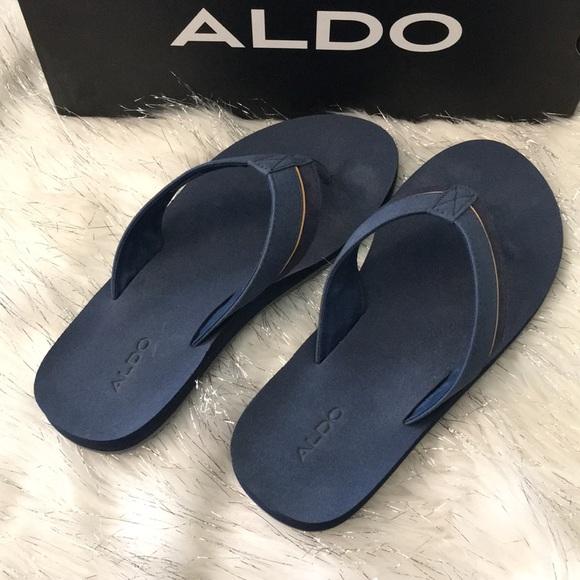 Aldo Other - Aldo navy flip flops